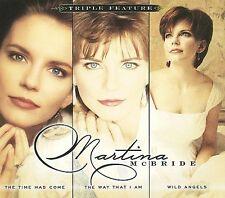 Triple Feature [Digipak] by Martina McBride (CD, Nov-2009, 3 Discs, Sony Music D