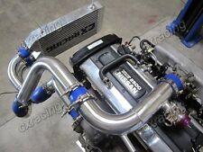 CX FM Bolt-on Intercooler Kit with BOV For Nissan S13 S14 240SX RB20 RB25DET