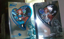 -Winx Club rare SILVER & BLUE BLOOM exclusive doll COMIC-CON SDCC 2012