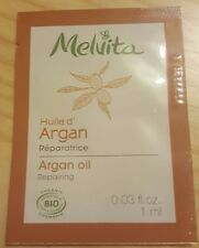 NEW MELVITA Argan Oil 1ml (Organic Brand)