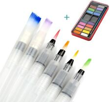 Wasserpinsel Stifte, Aidonger 6 Stk. Pinselstifte für Aquarell, Wasser Pinsel