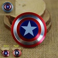 EDC Fidget Spinner Hand Finger Desk Spinner Focus Toys Captain America Shape