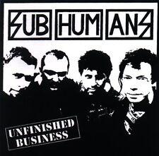 Subhumans - Unfinished Business [New CD]