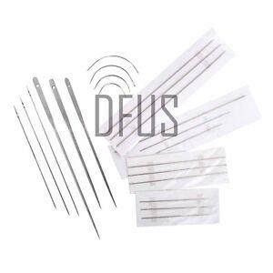 Upholstery needle curved needle buttoning needle hand repair needle UK SELLER