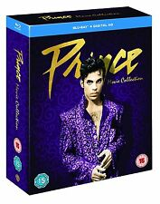 PRINCE COLLECTION PURPLE RAIN GRAFFITI BRIDE UNDER THE CHERRY MOON BLU-RAY