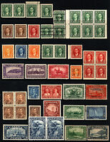 Canada #155-#240 1928-1937 Mostly Mint & MNH King George V & VI Era 32 Items
