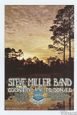 Steve Miller Country Joe McDonald 1970 Nov 20 Winterland Handbill
