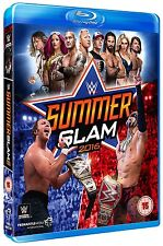 WWE SUMMER SLAM 2016 (wrestling) BLURAY n Inglese NEW .cp