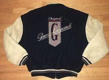 Vintage Original Guess Legends 1981 Varsity Leather Jacket Mens Sz XL