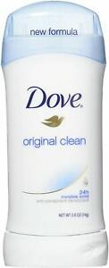 Dove Deodorant 2.6oz Invisible Solid Original Clean