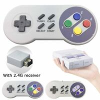 1/2pcs 2.4G Wireless Controller Gamepad for Super NES SNES Classic Mini Edition