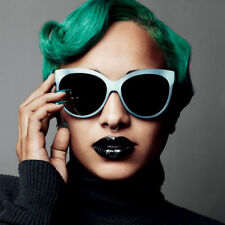 Christian Dior Paname Cat-Eye Mirrored Sunglasses Cloudy Aqua Green