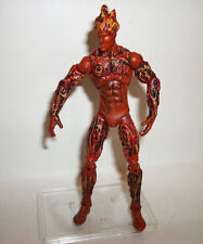 "Marvel Universe Super Hero Figure 3-4"" Custom Painted TORCH Fantastic Four"