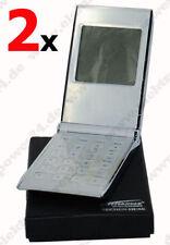 2x Zweibrüder Optoelettronica rastrello - strega Calcolatrice tascabile e