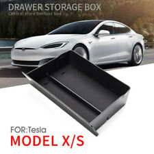 Fits Tesla Model X Model S Console Storage Box Drawer Container Accessories