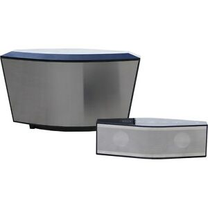 COWIN ARK BLACK- 2 in 1 Portable Dual Bluetooth Speaker Wireless Charging!!!
