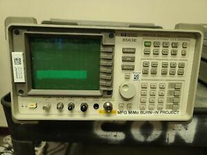 Agilent HP 8563E 9Khz to 26.5GHz Spectrum Analyzer