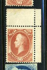 Scott #O93 War Official Corner Margin Mint Stamp Nh (Stock #O93-4)