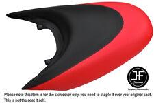 BLACK & BRIGHT RED CUSTOM FOR SEADOO 02-06 GTX DI 4-TEC REAR VINYL SEAT COVER