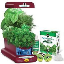 Miracle-Gro AeroGarden Sprout with Gourmet Herb Seed Pod Kit Red