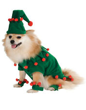 Dog Pet Or Cat Christmas Elf Dress Up Holiday Costume