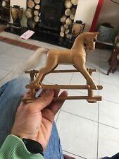 Smalll Wooden Rocking Horse