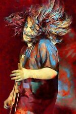 "Seether Poster And Metal Art ""Bruised And Bloodied"" Shaun Morgan Free Shipping!"