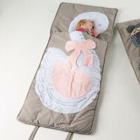 Jiggle & Giggle Kids Girls Sleeping Bag Swag Swan 70 x 170cm