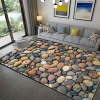 3D Carpet Stone Flannel Large Carpet for Room Mats Antislip Mat Big Floor Rug