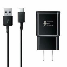 OEM Samsung Galaxy S8 S9 S10 Note 9 Fast Charging USB Wall Charger +TypeC cable