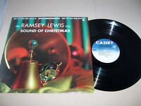 """THE RAMSEY LEWIS TRIO - SOUND OF CHRISTMAS - HOLIDAY 12"""" LP, CADET LPS-687 (VG)"""