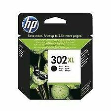 HP 302XL  Cartucho de Tinta para Impresoras - Negra (F6U68AE)