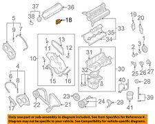 KIA OEM 03-06 Sorento 3.5L-V6 Engine-Rear Cover Left 2138139800