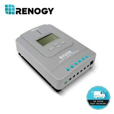 Renogy Rover PG 30Amp MPPT Solar Charge Controller 12V 24V Battery Regulator LCD