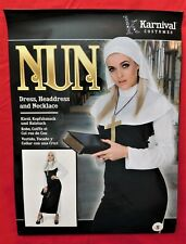 NEW Karnival Halloween Nun Costume Size S  FREE SHIPPING