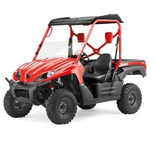 08 / 09 Kawasaki Teryx 750 Half Windshield New OEM 99994-0136