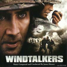 """JAMES HORNER -""""Windtalkers[Film Soundtrack]""""-Inc Film Clips+Interview-NEW CD"""