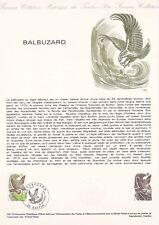 Document philatélique 39-78 1er jour 1978 Oiseau : Balbuzard Aigle Pêcheur