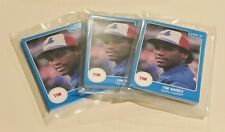 Lot of (3) 1987 Star Company sealed TIM RAINES 12 card sets - Expos - Sharp!