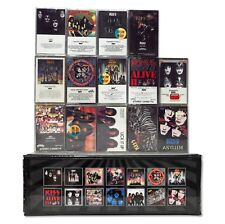 KISS - 15 NEW, SEALED cassette tapes in a custom, box set lot