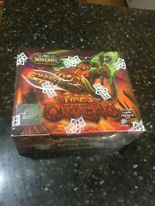 WoWTCG Factory sealed Fires of Outland Booster Box! Set with Spectral Tiger! USA