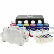 Kit Ciss + 600ml of ink for Cartridge 24 / 24XL printer Expression Photo XP-760