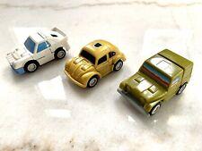 Transformers Vintage Throttlebots Lot (1987) Goldbug, Rollbar, Searchlight