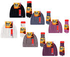 Heat Holders - Womens Knitted Warm Thermal Insulated Winter Hat and Gloves Set