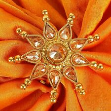 RN- 736 Indian Designer Party Wear Bollywood CZ Ring Gold Plated Fashion Jewelry