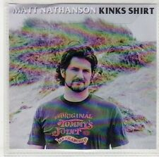 (EP983) Matt Nathanson, Kinks Shirt - 2014 DJ CD