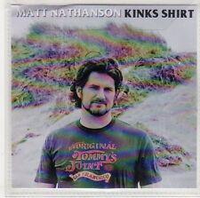 (EP983) Matt Nathanson, Kinks Shirt - 2014 DJ CD