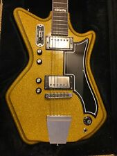 RARE 2007 Airline Eastwood 59 2 PU in Gold Sparkle Finish - 1 of only 24 made