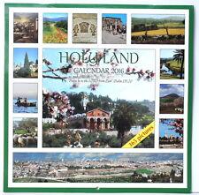 LRG HOLY LAND WALL CALENDAR 2016 Religious Christian Holy Biblical Sites, Jesus
