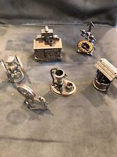 Vintage Durham Industries Metal Doll Furniture Miniature 6 Pieces